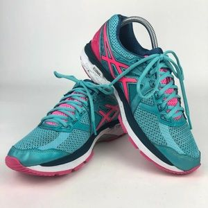 Asics GT-2000 Running Shoes T656N Womens Size 8